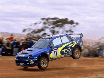 2002 Subaru Impreza WRC 268