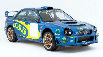2002 Subaru Impreza WRC 8