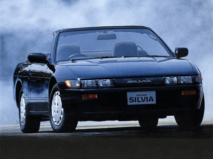 1988 Nissan Silvia S13 convertible by Autech 1
