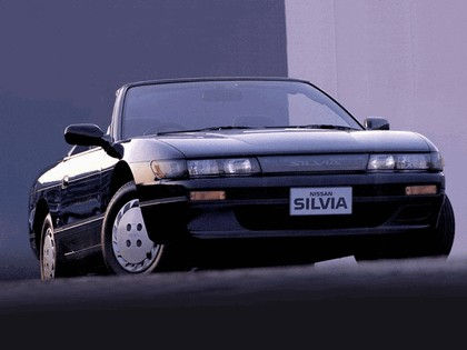 1988 Nissan Silvia S13 convertible by Autech 2