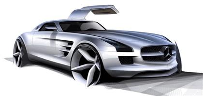 2009 Mercedes-Benz SLS AMG - sketches 1
