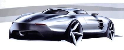 2009 Mercedes-Benz SLS AMG - sketches 2