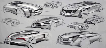 2009 Mercedes-Benz SLS AMG - sketches 3