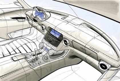 2009 Mercedes-Benz SLS AMG - sketches 4