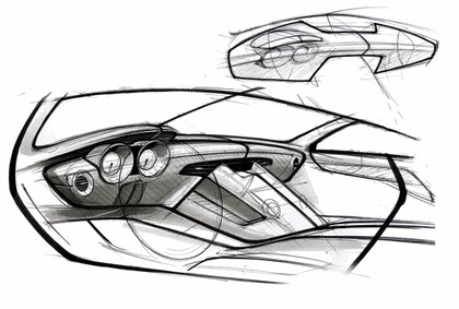 2009 Mercedes-Benz SLS AMG - sketches 5