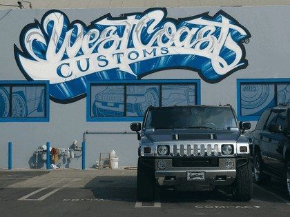 2008 Hummer H2 by West Coast Customs 4