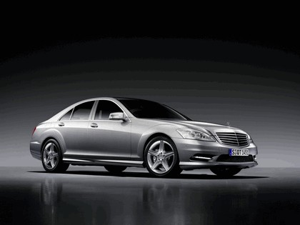 2009 Mercedes-Benz S-klasse with AMG Sports package 2