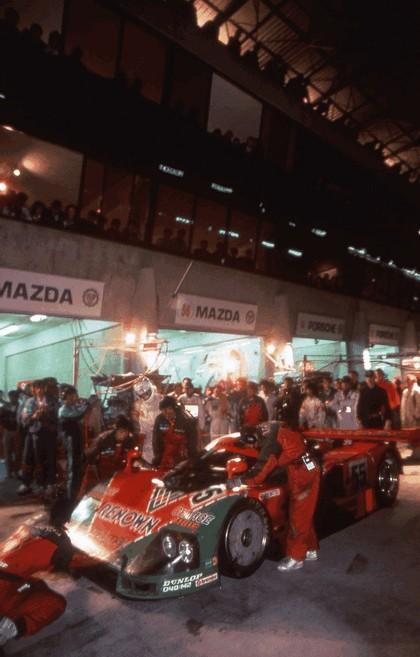 1991 Mazda 787B ( LeMans winner ) 27