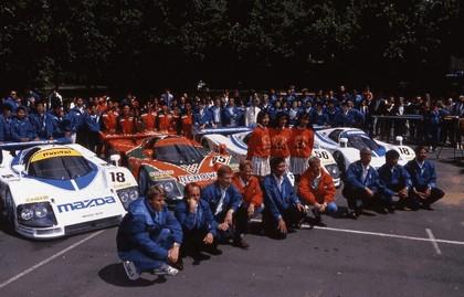 1991 Mazda 787B ( LeMans winner ) 59