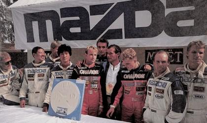 1991 Mazda 787B ( LeMans winner ) 61