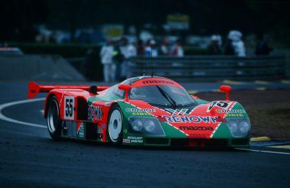 1991 Mazda 787B ( LeMans winner ) 95