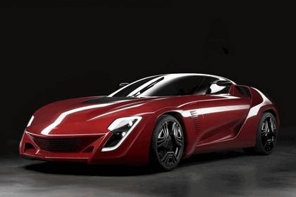 2009 Bertone Mantide ( based on Chevrolet Corvette C6 ZR1 ) 2