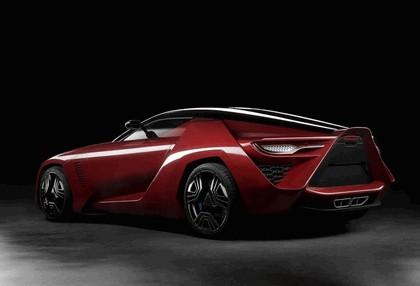 2009 Bertone Mantide ( based on Chevrolet Corvette C6 ZR1 ) 3