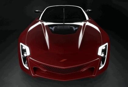 2009 Bertone Mantide ( based on Chevrolet Corvette C6 ZR1 ) 13