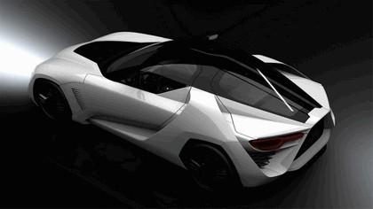 2009 Bertone Mantide ( based on Chevrolet Corvette C6 ZR1 ) 17