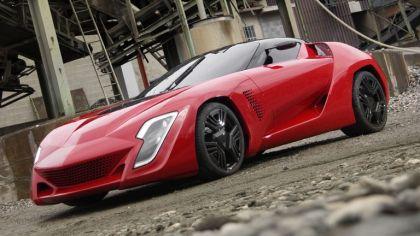 2009 Bertone Mantide ( based on Chevrolet Corvette C6 ZR1 ) 4
