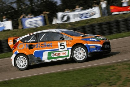 2009 Ford Fiesta Rally-Cross debut at Lydden Hill 4