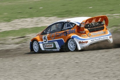 2009 Ford Fiesta Rally-Cross debut at Lydden Hill 6