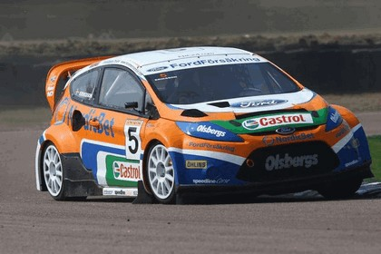 2009 Ford Fiesta Rally-Cross debut at Lydden Hill 7