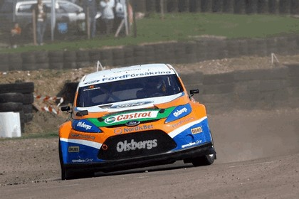 2009 Ford Fiesta Rally-Cross debut at Lydden Hill 8
