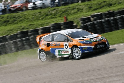 2009 Ford Fiesta Rally-Cross debut at Lydden Hill 9
