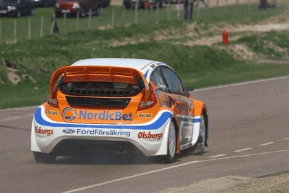 2009 Ford Fiesta Rally-Cross debut at Lydden Hill 11