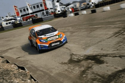 2009 Ford Fiesta Rally-Cross debut at Lydden Hill 13