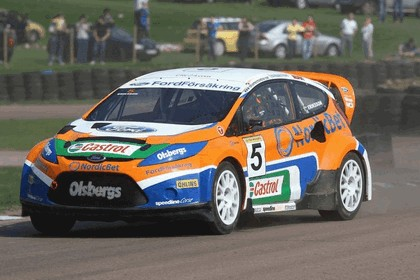 2009 Ford Fiesta Rally-Cross debut at Lydden Hill 14