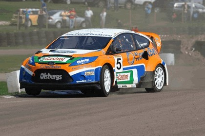 2009 Ford Fiesta Rally-Cross debut at Lydden Hill 16