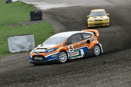 2009 Ford Fiesta Rally-Cross debut at Lydden Hill 18