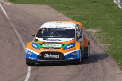 2009 Ford Fiesta Rally-Cross debut at Lydden Hill 19