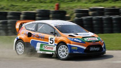 2009 Ford Fiesta Rally-Cross debut at Lydden Hill 3