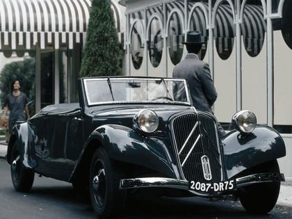 1935 Citroen Traction Avant 11CV cabriolet 3