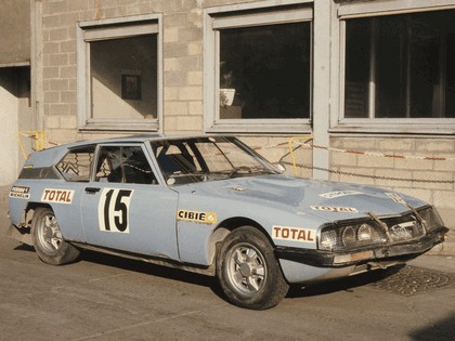 1973 Citroen SM prototype shortened 1