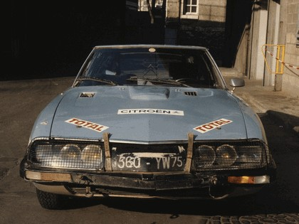 1973 Citroen SM prototype shortened 5