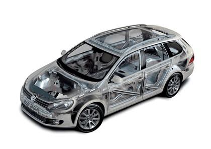 2009 Volkswagen Golf VI Variant 19