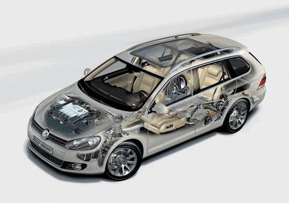 2009 Volkswagen Golf VI Variant 22