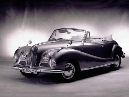 1954 BMW 502 cabriolet 1