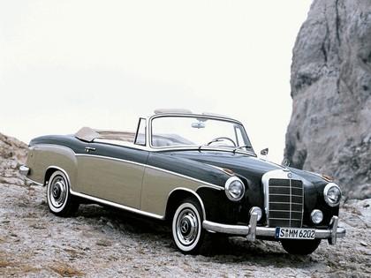 1956 Mercedes-Benz S-klasse ( W180 ) cabriolet 1