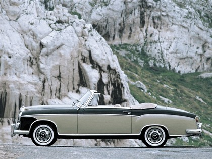 1956 Mercedes-Benz S-klasse ( W180 ) cabriolet 2