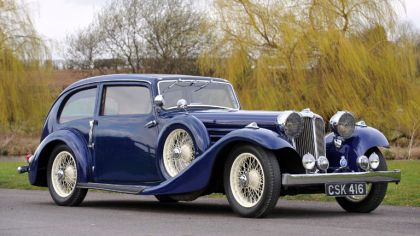 1935 Jaguar SS Airline sedan 1