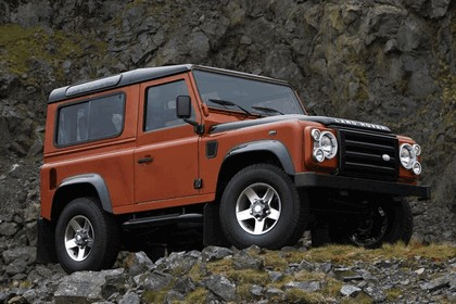 2009 Land Rover Defender Limited Edition Fire 1