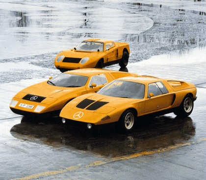 1969 Mercedes-Benz C111 concept 9