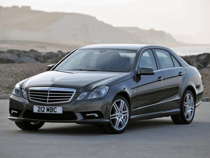 2009 Mercedes-Benz E220 CDI ( W212 ) AMG sports package - UK version 1