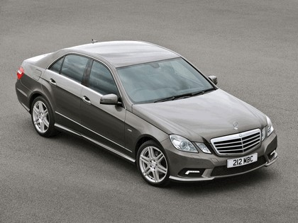 2009 Mercedes-Benz E220 CDI ( W212 ) AMG sports package - UK version 4