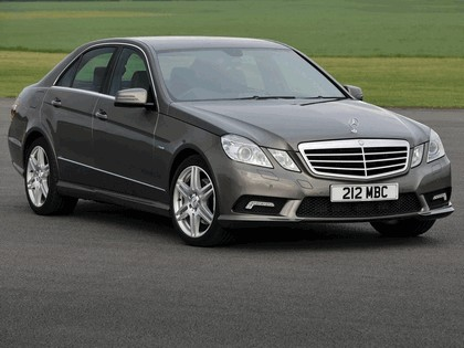 2009 Mercedes-Benz E220 CDI ( W212 ) AMG sports package - UK version 6