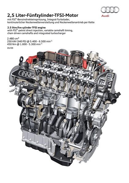 2009 Audi TT RS coupé 22