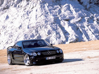 1999 Mercedes-Benz CL60 ( C215 ) by Wald 6