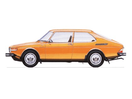 1972 Saab 99 8
