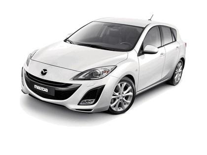 2009 Mazda Axela sedan 1